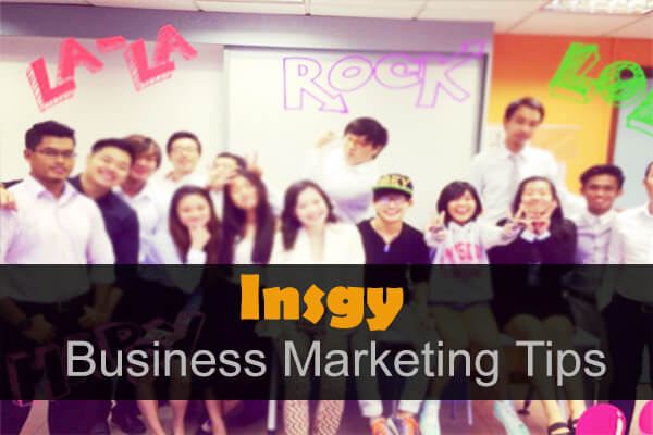 Insza Business Marketing Tips
